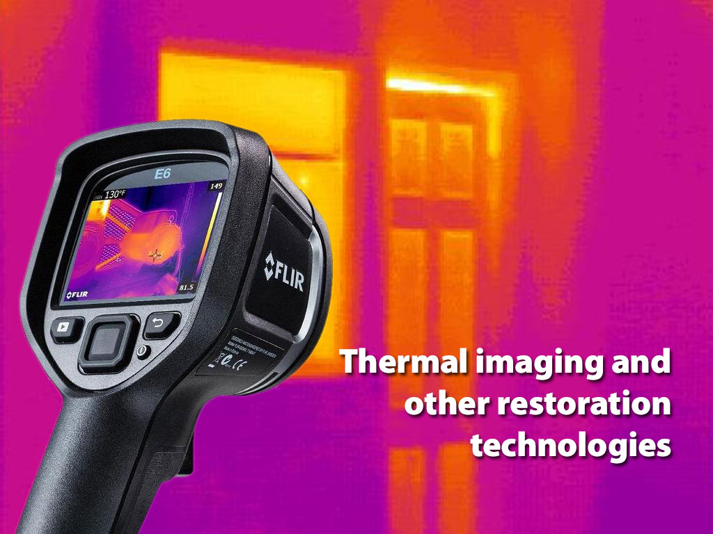 Thermal imaging and other restoration technologies