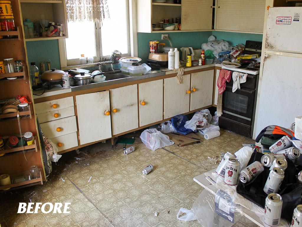 Squalor clean-up